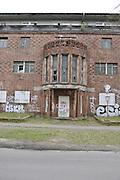 Berlin GERMANY.   Derelict building on the Regattastrasse 277.  Possible, an old Radio Station. Berlin Grunau Spring Regatta [Beliner Fruh-Regatta 2010 Berlin-Grunau.].  Saturday   24/04/2010.  [Mandatory Credit. Peter Spurrier/Intersport Images]