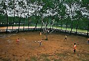 Vietnam, Hué: football match...