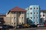 Art Deco Apartments at Bondi Beach, Sydney, Australia.