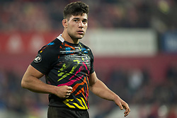 March 23, 2019 - Limerick, Ireland - Renato Giammarioli of Zebre looks on during the Guinness PRO14 match between Munster Rugby and Zebre at Thomond Park Stadium in Limerick, Ireland on March 23, 2019  (Credit Image: © Andrew Surma/NurPhoto via ZUMA Press)