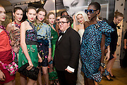 ALBER ELBAZ AND THE MODELS, The Launch of the Lanvin store on Mount St. Presentation and cocktails.  London. 26 March 2009