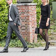 NLD/Bilthoven/20170706 - Uitvaart Ton de Leeuwe, ex partner Anita Meyer, .........