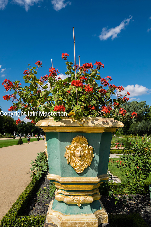 Gardens of the Schloss Charlottenburg Berlin Germany