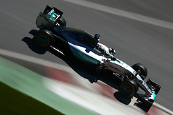 06.06.2015, Circuit Gilles Villeneuve, Montreal, CAN, FIA, Formel 1, Grand Prix von Kanada, Qualifying, im Bild Lewis Hamilton (GBR) Mercedes AMG F1 W06 // during Qualifyings of the Canadian Formula One Grand Prix at the Circuit Gilles Villeneuve in Montreal, Canada on 2015/06/06. EXPA Pictures © 2015, PhotoCredit: EXPA/ Sutton Images/ Patrik Lundin<br /> <br /> *****ATTENTION - for AUT, SLO, CRO, SRB, BIH, MAZ only*****