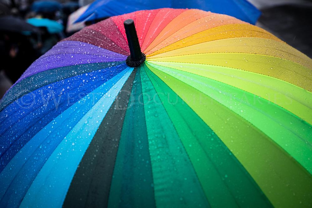 Title: No Rain Can Dampen My Pride