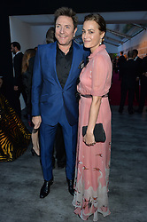 SIMON & YASMIN LE BON at British Vogue's Centenary Gala Dinner in Kensington Gardens, London on 23rd May 2016.