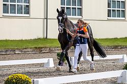 Van Baalen Marlies, NED, Go Legend<br /> European Championship Dressage Hagen 2021<br /> © Hippo Foto - Stefan Lafrentz<br />  06/09/2021