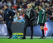 Germany Women Manager Silvia Neid<br /> - Womens International Football - England vs Germany - Wembley Stadium - London, England - 23rdNovember 2014  - Picture Robin Parker/Sportimage
