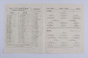 Interprovincial Railway Cup Football Cup Final,  17.03.1947, 03.17.1947, 17th March 1947,  Ulster 1-06, Leinster 0-03,.Interprovincial Railway Cup Hurling Cup Final,  17.03.1947, 03.17.1947, 17th March 1947,  Connacht, Munster,