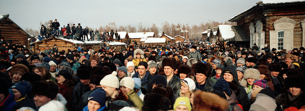 Farewell To Winter Festival, Listyyanka, Siberia, Russia