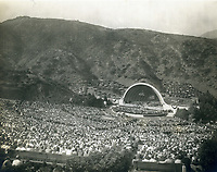 1932 Franklin D. Roosevelt speaking at The Hollywood Bowl