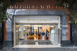 September 5, 2017 - Paris, France - Galeries Lafayette (Credit Image: © Panoramic via ZUMA Press)