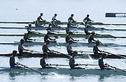 Milan ITALY,  General view of the BM4X, at the start of the 1997 Nations Cup U23  World Rowing Championships. Course, Idra Scala. Province of Milan.<br /> <br /> [Mandatory Credit; Peter Spurrier/Intersport-images] 1997 U23 Nations Cup U23 Championships. Milan Italy