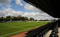 General views inside the stadium- Mandatory by-line: Nizaam Jones/JMP - 05/09/2020 - FOOTBALL - New Lawn Stadium - Nailsworth, England - Forest Green Rovers v Leyton Orient - Carabao Cup