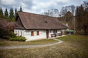 Das Haus Na Sboru in Kunvald (deutsch Kunwald) welches an den Beginn der Brüderunität erinnert.