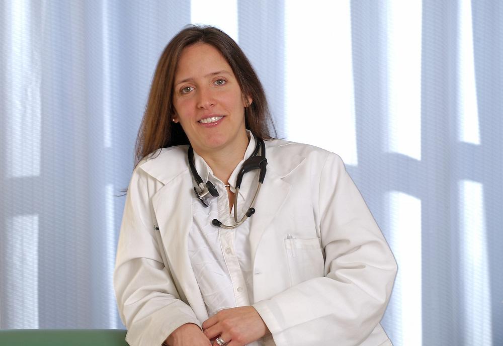 Doctor Portrait in Hospital