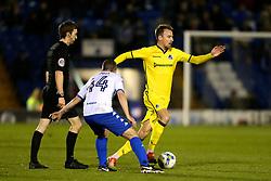 Chris Lines of Bristol Rovers and Paul Caddis of Bury - Mandatory by-line: Matt McNulty/JMP - 14/03/2017 - FOOTBALL - Gigg Lane - Bury, England - Bury v Bristol Rovers - Sky Bet League One