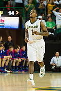 WACO, TX - JANUARY 7: Kenny Chery #1 of the Baylor Bears runs down court against the Kansas Jayhawks on January 7, 2015 at the Ferrell Center in Waco, Texas.  (Photo by Cooper Neill/Getty Images) *** Local Caption *** Kenny Chery