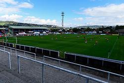 A general view of Twerton Park during the match - Mandatory by-line: Ryan Hiscott/JMP - 06/09/2020 - FOOTBALL - Twerton Park - Bath, England - Bristol City Women v Everton Ladies - FA Women's Super League