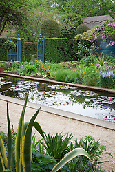 View towards the Lily Pool at Hidcote Manor Garden