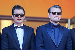 Orlando Bloom and Leonardo DiCaprio attend the screening of The Traitor during the 72nd annual Cannes Film Festival on May 23, 2019 in Cannes, France. Photo by Shootpix/ABACAPRESS.COM