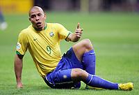 Ronaldo Brasilien<br /> Fussball WM 2006 Viertelfinale Brasilien - Frankreich<br />  Brasil - Frankrike <br /> Norway only