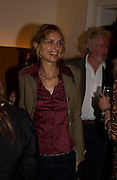 Maryam D'Abo. Lunch party for Brooke Shields hosted by charles finch and Patrick Cox. Mortons. Berkeley Sq. 6 July 2005. ONE TIME USE ONLY - DO NOT ARCHIVE  © Copyright Photograph by Dafydd Jones 66 Stockwell Park Rd. London SW9 0DA Tel 020 7733 0108 www.dafjones.com