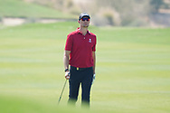 Sebastian Heisele (GER) on the 2nd during Round 2 of the Commercial Bank Qatar Masters 2020 at the Education City Golf Club, Doha, Qatar . 06/03/2020<br /> Picture: Golffile | Thos Caffrey<br /> <br /> <br /> All photo usage must carry mandatory copyright credit (© Golffile | Thos Caffrey)