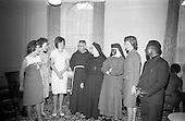 1966 - Irish Zambian Missionaries reunion at Wynn's Hotel Dublin
