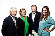 Mario Pachi, Rosanna Levini, Simone Pachi ed Eleonora Bardoni.  Azienda Pielle.  Binasco, Milano.