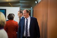 DEU, Deutschland, Germany, Berlin, 09.01.2019: Kanzleramtsminister Helge Braun (CDU) vor Beginn der 36. Kabinettsitzung im Bundeskanzleramt.