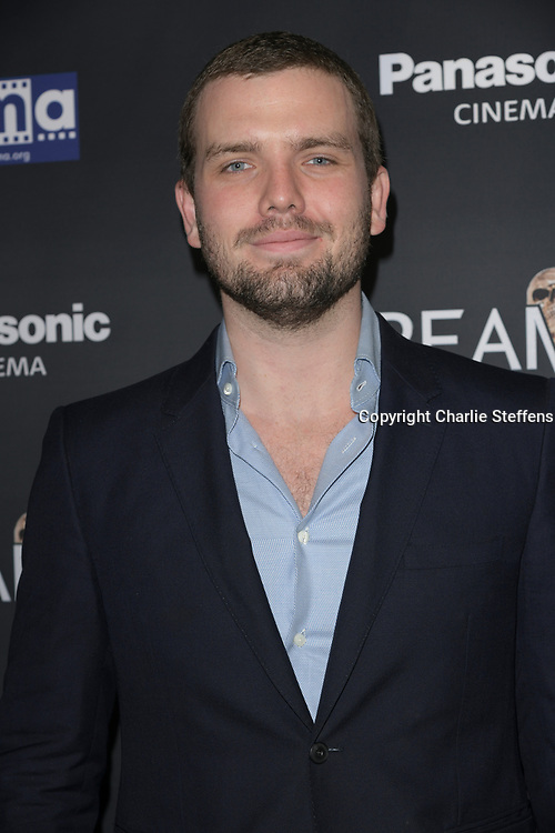 """AUSTIN SWIFT attends the premiere screening of """"We Summon the Darkness"""" on closing night of the 19th Annual SCREAMFEST Horror Film Festival at TCL Chinese Theatre 6 in Los Angeles, California."""