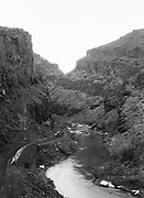 """9336-K22.  """"John Day River."""", """"John Day Highway Oregon."""" Picture Canyon, Picture Gorge, Highway 26. About 1930"""