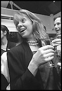 SABRINA GUINNESS, Tatler Bafta party hosted by Jane Procter and Charles Finch. Lola's. Upper St. London. April 1999.