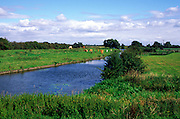 Great river Ouse, Stretham Cambridgeshire England, UK