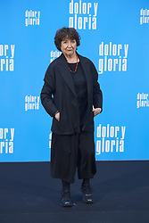 March 12, 2019 - Madrid, Madrid, Spain - Julieta Serrano attends 'Dolor y Gloria' Photocall at Villamagna Hotel on March 12, 2019 in Madrid, Spain (Credit Image: © Jack Abuin/ZUMA Wire)
