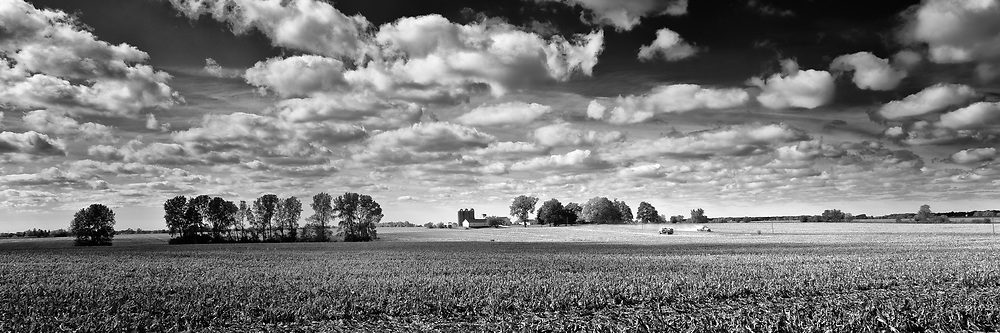 Dark, rich, and fertile Kane County, Illinois farmland is becoming an endangered asset as development progresses. It is a landscape to love and it helps feed the world.