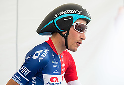 Janez Brajkovic of Adria Mobil Cycling Team prior to the 5th Time Trial Stage of 25th Tour de Slovenie 2018 cycling race between Trebnje and Novo mesto (25,5 km), on June 17, 2018 in  Slovenia. Photo by Vid Ponikvar / Sportida