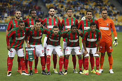 August 24, 2017 - Players of Maritimo  poses during the Europa League second play-off soccer match between FC Dynamo Kyiv and FC Maritimo, at the Olimpiyskyi stadium in Kyiv, Ukraine, August 24, 2017. (Credit Image: © Anatolii Stepanov via ZUMA Wire)