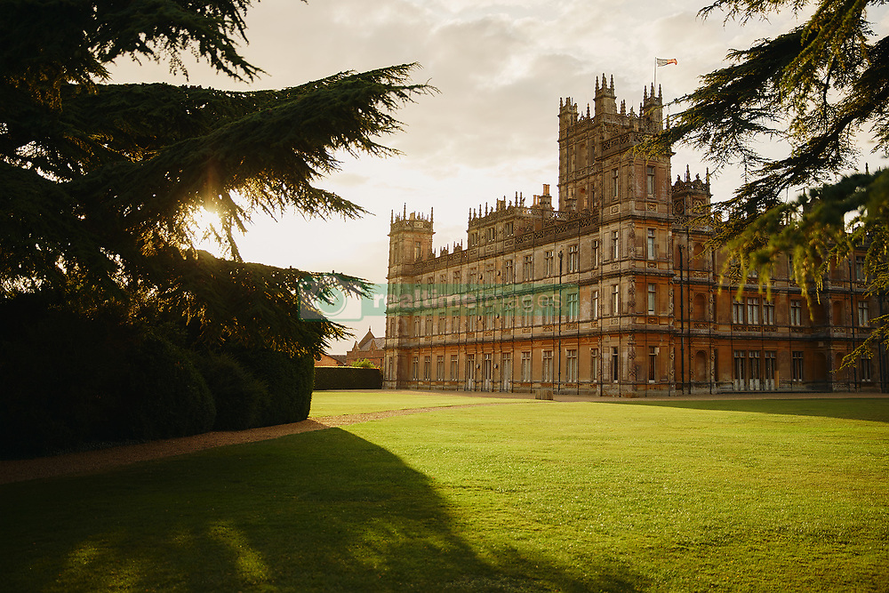 - To celebrate the upcoming motion picture event Downton Abbey, Highclere Castle will open its doors to two guests for a never-before-stay available only on Airbnb - Two fans will be able to stay overnight in one of the grand bedrooms on November 26 - Guests will gain exclusive access to the castle and its grounds, including an extravagant traditional dinner in Highclere Castle's iconic State Dining Room Highclere Castle — the home of Downton Abbey — is now available for a once-in-a-lifetime stay available on Airbnb. For one night only, Highclere Castle in Hampshire, England, will open its doors to two guests, giving super fans an opportunity to immerse themselves in the iconic location of Downton Abbey, and learn what life might have been like for the Crawleys. Guests will be treated like royalty during their stay, with the Earl and Countess of Carnarvon inviting their guests to join them for an exclusive evening of cocktails in the Saloon followed by a traditional dinner in the State Dining Room, being waited on by Highclere Castle's own butler. After dinner, coffee will be served in the Library before the guests retire to one of the principal bedrooms with an en-suite bathroom and views over 1,000 acres of rolling parkland. Before departing the next day, guests will enjoybreakfast prior to a private tour of Highclere Castle's extensive grounds. The Castle itself covers 100,000 square feet and has a total of 300 rooms. Throughout the property, the rooms are opulently decorated and furnished, with each detail providing a unique insight into Highclere Castle's history. Fans will get the opportunity to explore iconic rooms, such as the Drawing Room, or relax in one of the Gallery bedrooms, following in the footsteps of kings and queens. In celebration of the motion picture event Downton Abbey, booking for the listing will open on October 1, 2019 at 12PM BST. Lady Carnarvon, Host on Airbnb comments: 'It's an absolute privilege and pleasure to call Highclere Cast