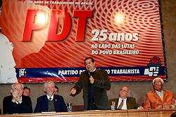 O pré-candidato à Prefeitura de Porto Alegre, em evento do partido na sede municipal do PDT, em Porto Alegre.  FOTO: Jefferson Bernardes/Preview.com