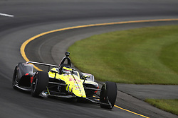 August 19, 2018 - Long Pond, Pennsylvania, United Stated - SEBASTIEN BOURDAIS (18) of France take to the track for the ABC Supply 500 at Pocono Raceway in Long Pond, Pennsylvania. (Credit Image: © Chris Owens Asp Inc/ASP via ZUMA Wire)