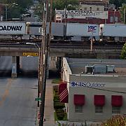 Summit Street near Southwest Boulevard, Kansas City, Missouri.