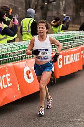 NYRR New York City Half Marathon road race: Kathryn Martin