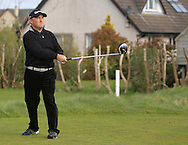 Damien McGrane (Kells) on the 4th tee during the Winter PGA Series Southern Branch in Rush Golf Club on Friday 20th March 2015.<br /> Picture:  Thos Caffrey / www.golffile.ie