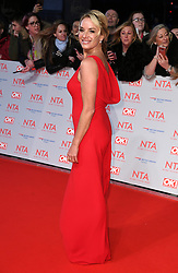 Tamzin Outhwaite attending the National Television Awards 2018 held at the O2, London. Photo credit should read: Doug Peters/EMPICS Entertainment