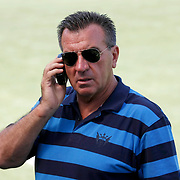 Galatasaray's plant manager Fahri YILMAZ during their training at the Jupp Derwall training center, Saturday, July 16 2011. Photo by TURKPIX
