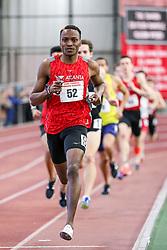 1000 meters, heat 1, Kemboi, Atlanta Track Club,<br /> BU John Terrier Classic <br /> Indoor Track & Field Meet <br /> day 2