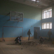 Donetsk under shelling