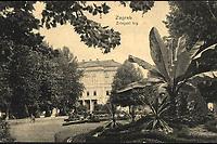 Zagreb : Zrinjski trg. <br /> <br /> ImpresumP. [Prag] : L. & P. [Lederer & Popper], [1912].<br /> Materijalni opis1 razglednica : tisak ; 9 x 14,1 cm.<br /> NakladnikLederer & Popper<br /> Vrstavizualna građa • razglednice<br /> ZbirkaZbirka razglednica • Grafička zbirka NSK<br /> ProjektPozdrav iz Zagreba • Pozdrav iz Hrvatske<br /> Formatimage/jpeg<br /> PredmetZagreb –– Trg Nikole Šubića Zrinskog<br /> SignaturaRZG-ZRIN-5<br /> Obuhvat(vremenski)20. stoljeće<br /> NapomenaRazglednica je putovala 1912. godine. • U lijevom donjem kutu poleđine razglednice otisnut je monogram Lederera & Poppera - L. & P. // P. (za Prag).<br /> PravaJavno dobro<br /> Identifikatori000953210<br /> NBN.HRNBN: urn:nbn:hr:238:335439 <br /> <br /> Izvor: Digitalne zbirke Nacionalne i sveučilišne knjižnice u Zagrebu